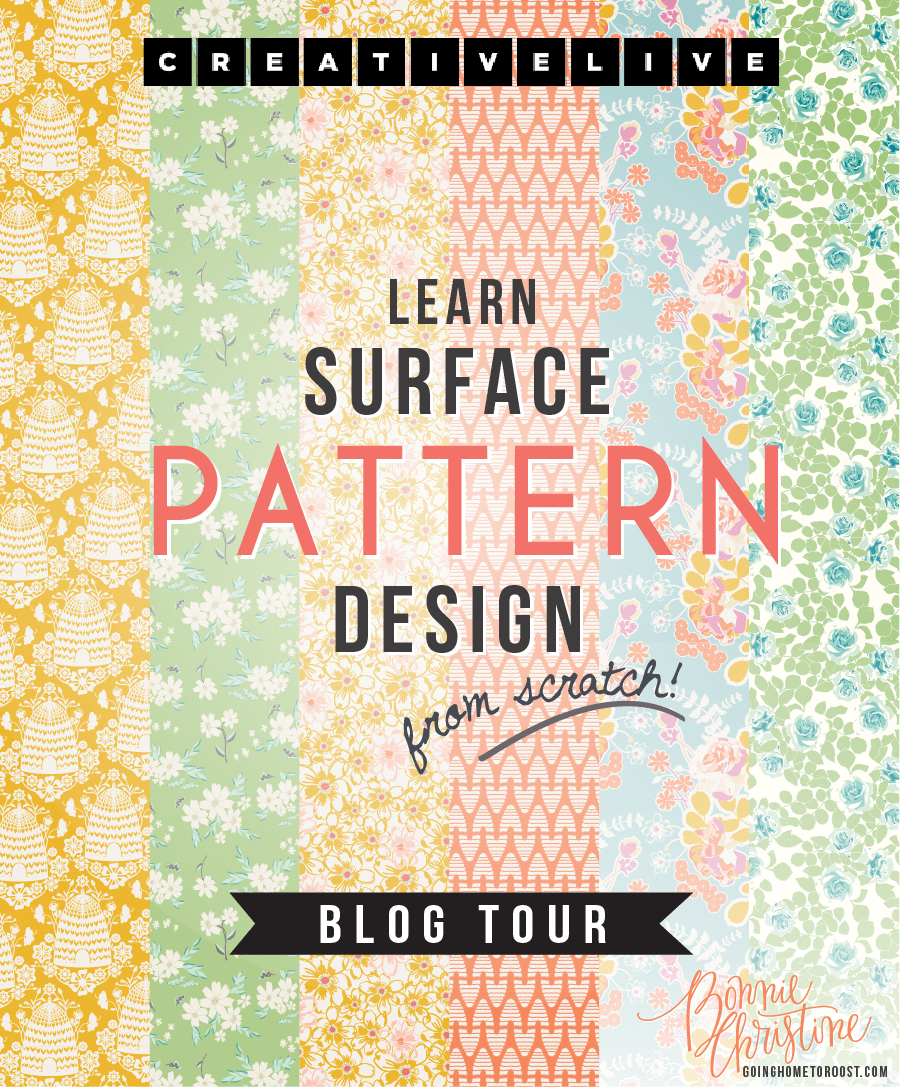 Design Surface Patterns from Scratch Blog Hop