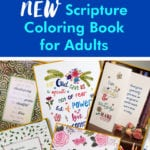 Sneak Peek inside Scripture coloring book by JoDitt