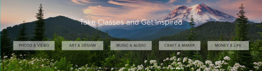 Take classes and get inspired at CreativeLive.com