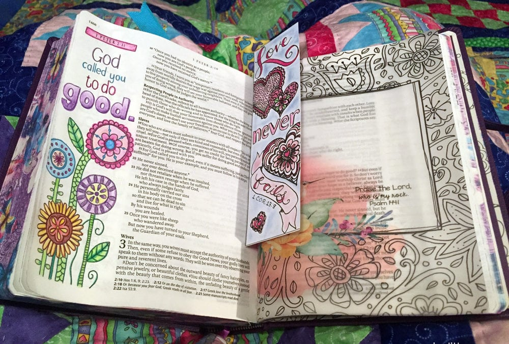 7 Simple Ways to Liven Up Your Bible Study with Color
