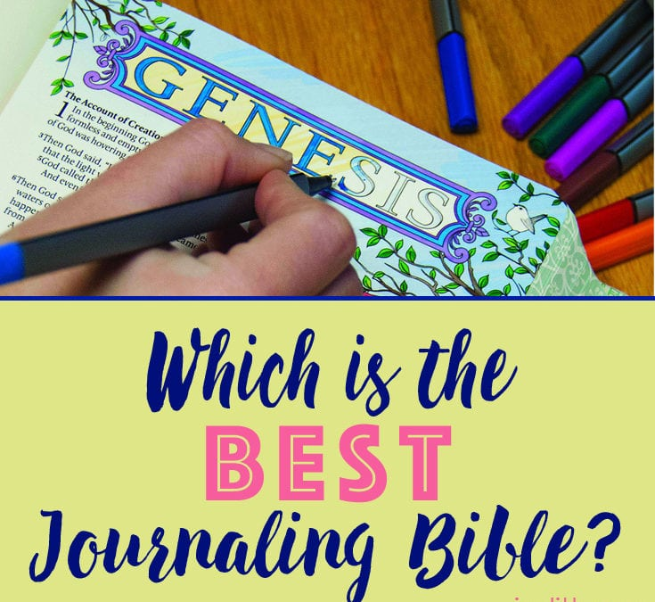 Which is the Best Journaling Bible