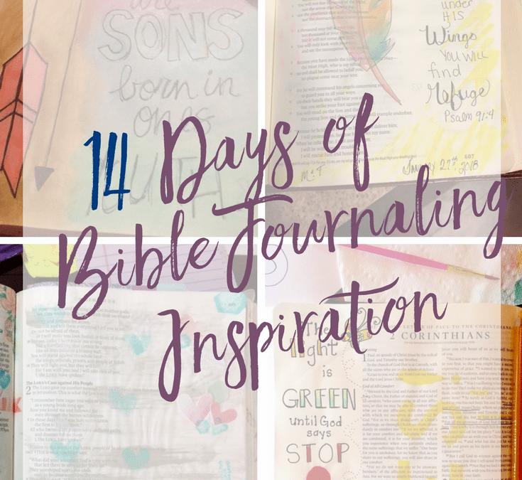 14 Days of Bible Journaling Inspiration & Giveaways