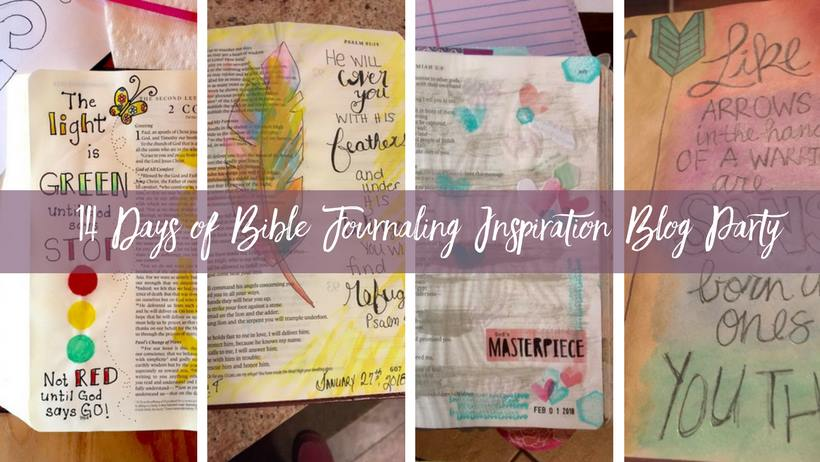 14 Days of Bible Journaling Inspiration