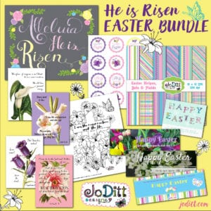 Christ-centered Easter printables for Adults