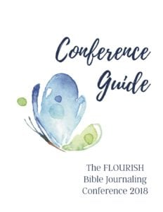 Flourish Bible Journaling Conference Guide