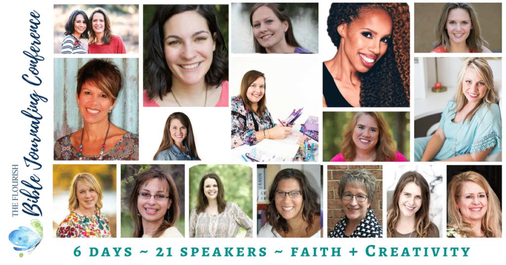Flourish Bible Journaling Conference 2018