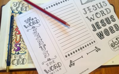 Delight in the Word Monthly Challenges