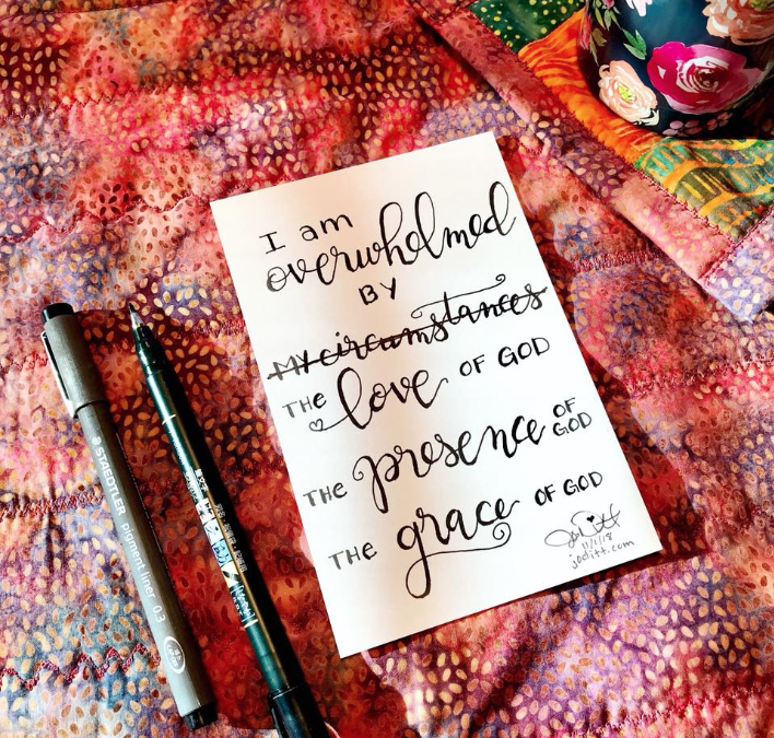 I am Overwhelmed + November Delight in the Word Challenge