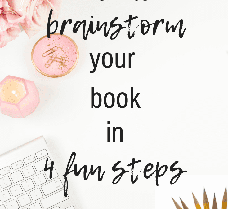 How to Brainstorm a Book or Course in 4 Fun Steps
