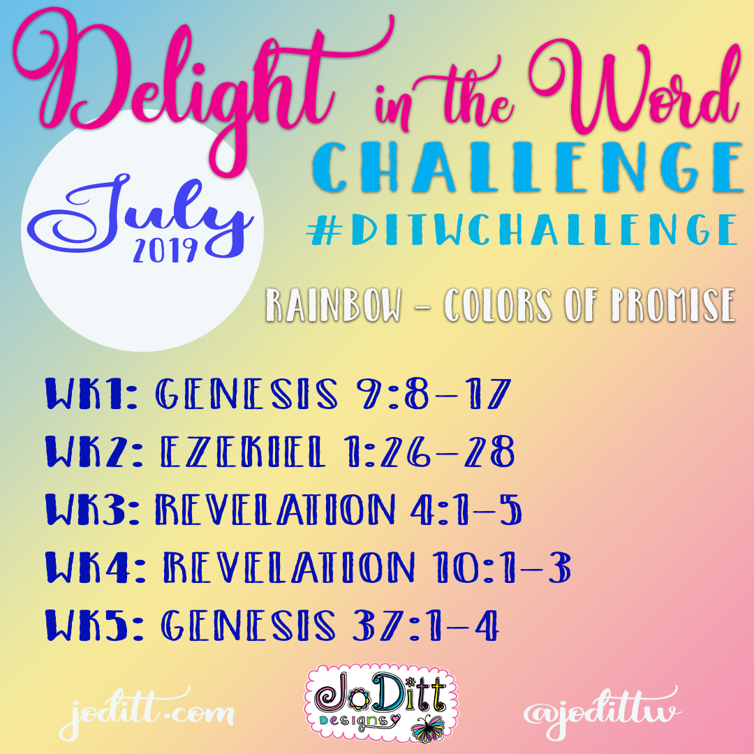 July Delight in the Word Challenge