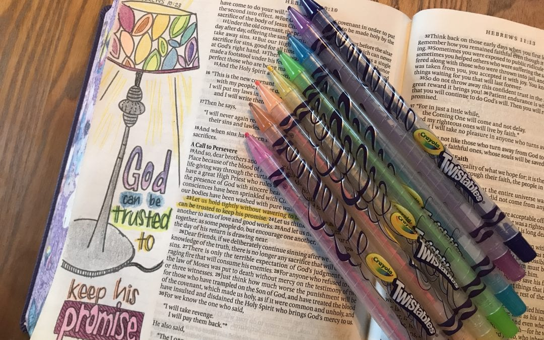 Easy Bible Journaling Page Has Big Impact on My Heart