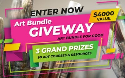 Win $4000 of Art Resources in the Art Bundle for Good