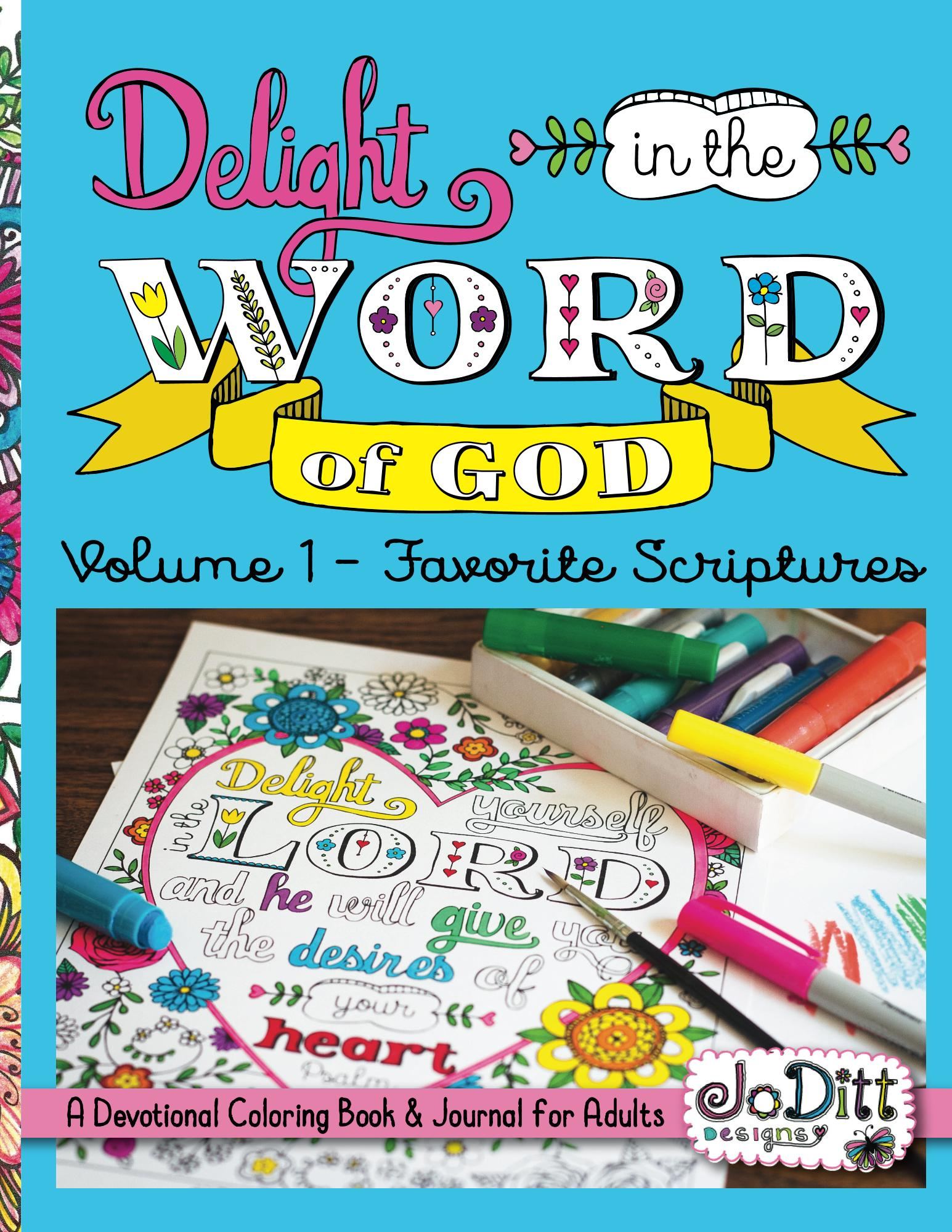 Bible Coloring Book by JoDitt Williams