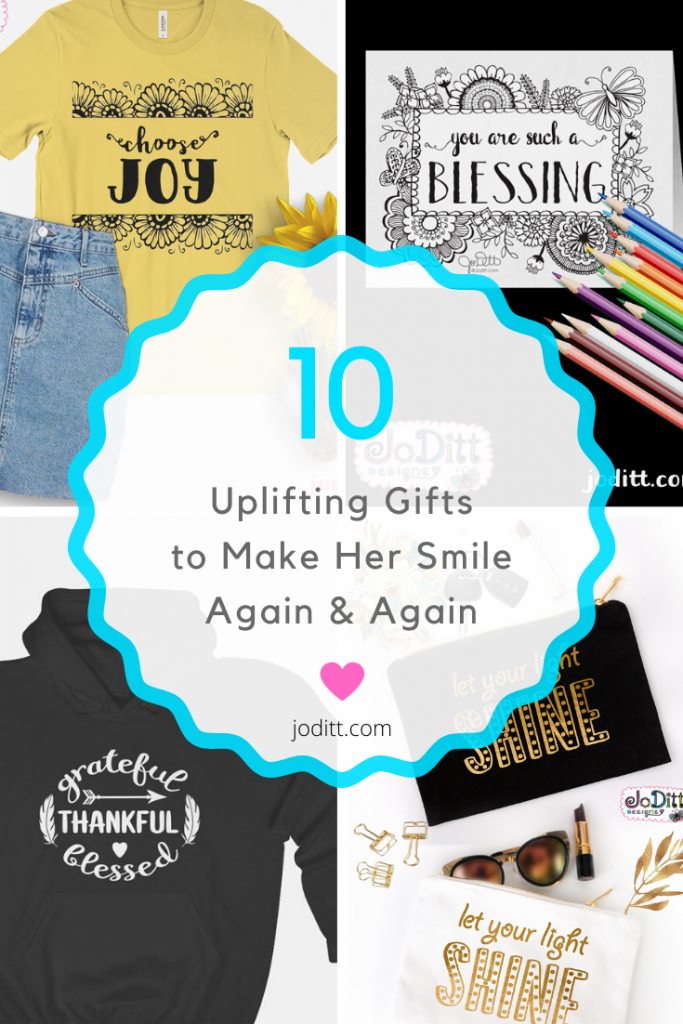 10 Uplifting Gifts to Make Her Smile