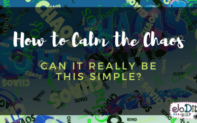 Can Calming the Chaos Really Be This Simple?