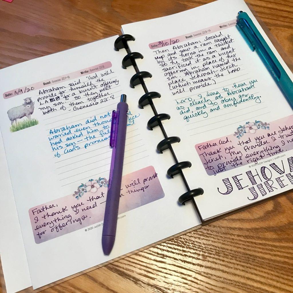 Scripture Writing Journal