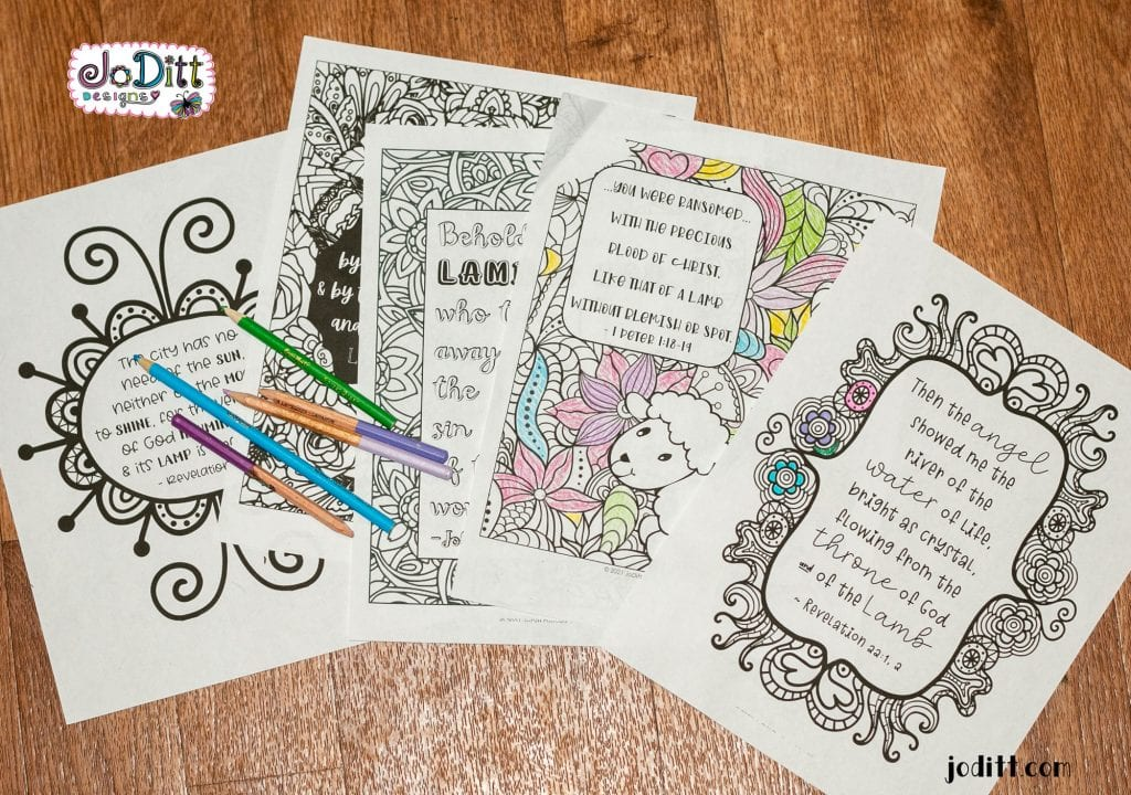 Lamb of God coloring pages