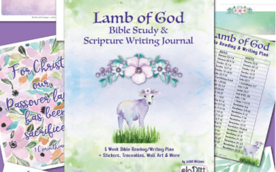 Lent / Easter Bible Reading Plan and Scripture Writing Challenge