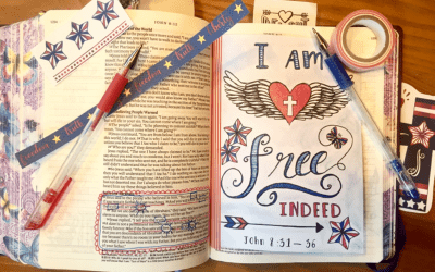 July Bible Reading Plan – Freedom in Christ Study