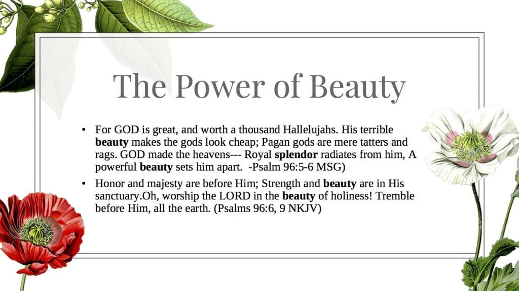 the power of beauty