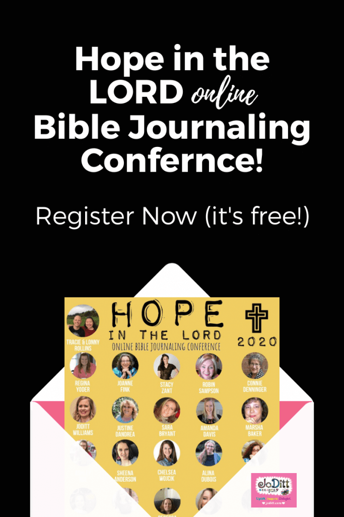 Hope in the Lord Bible Journaling Conference 2020