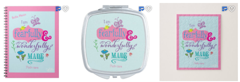 Meaningful Easter Gift - Fearfully Wonderfully Made Gift Items
