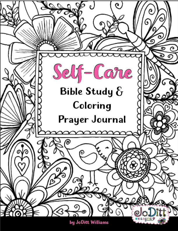 Self Care Coloring Prayer Journal