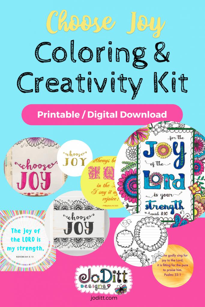 Choose Joy Coloring & Creativity Kit