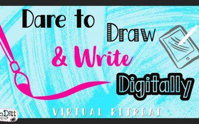 Dare to Draw Digitally Virtual Retreat